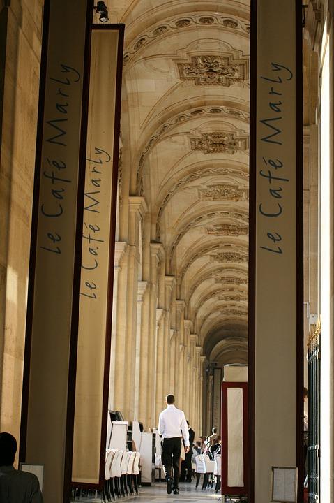 Waiter, Cafe, Restaurant, Food, France, Europe, Paris
