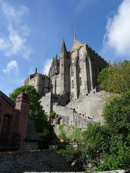 Mont Saint Michel, Castle, France