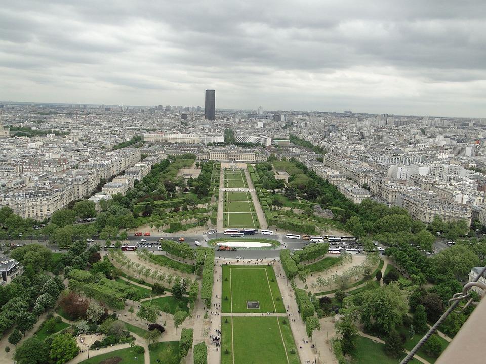 Paris, Eiffel, City, Europe, France