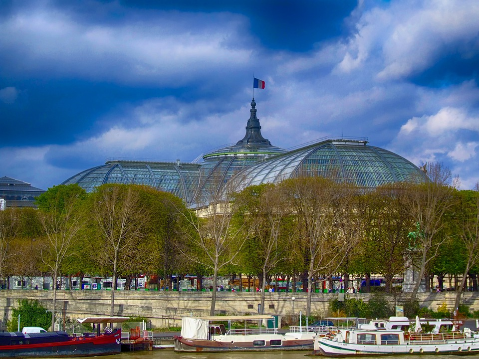 Grand Palais, Paris, France, City, Cities, Urban