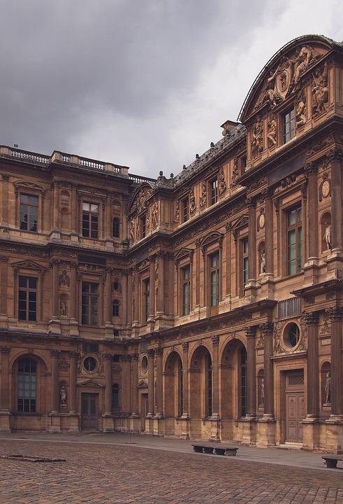 Paris, France, Buildings, Architecture, Cobblestone