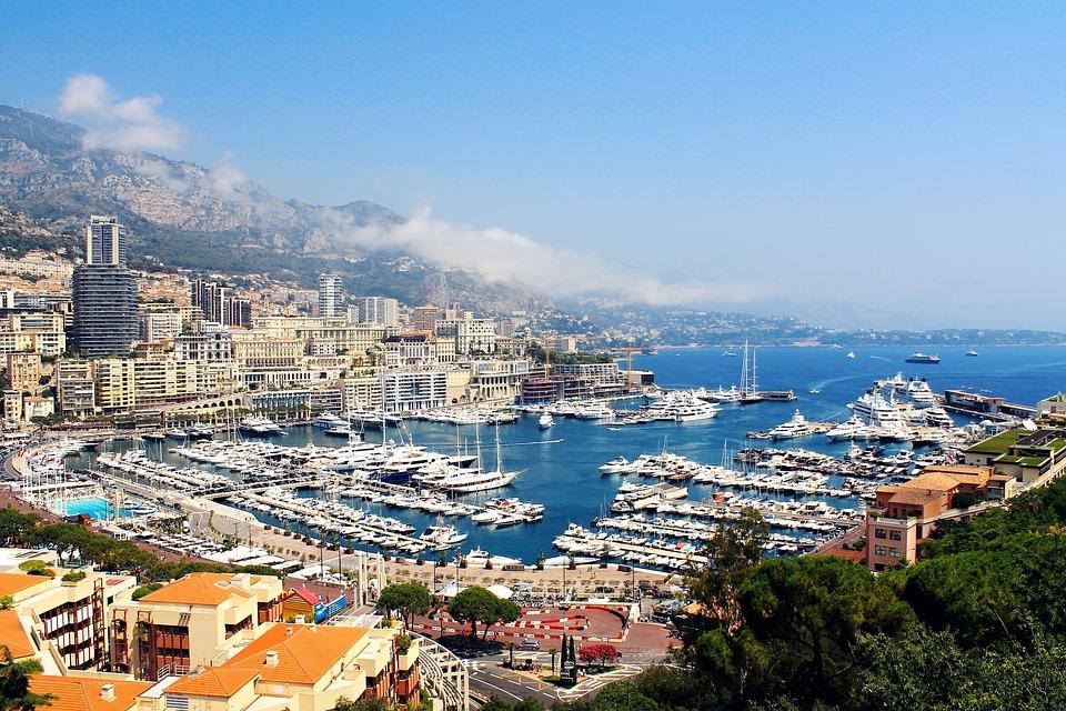 Monaco, City, Bay, Europe, France, Mediterranean