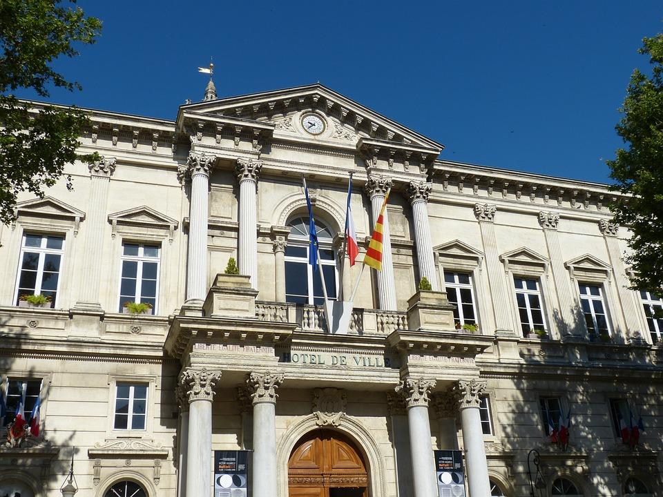 Avignon, France, Provence, Historically, Town Hall