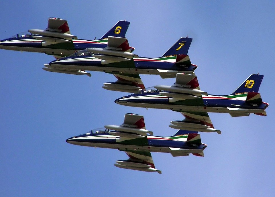 France, French, Aircraft, Sky, Jets, Flying, High