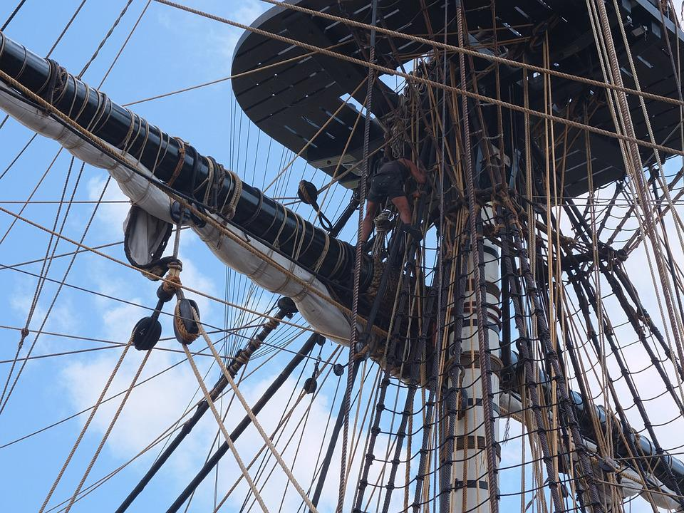 La Fayette, Frigate Hermione, France, Boat