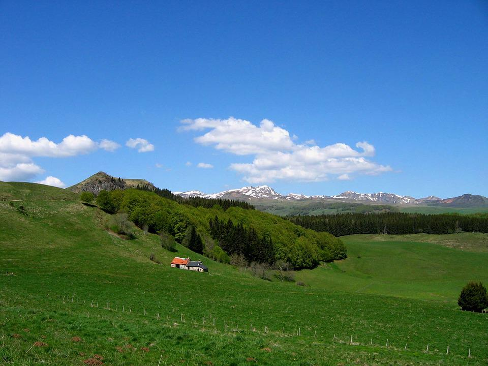 Auvergne, France, Landscape