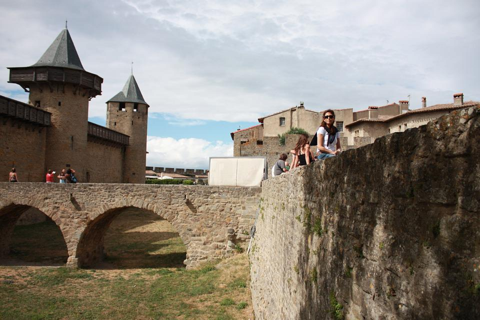 Castle, Medieval, Carcasone, France, Fortress