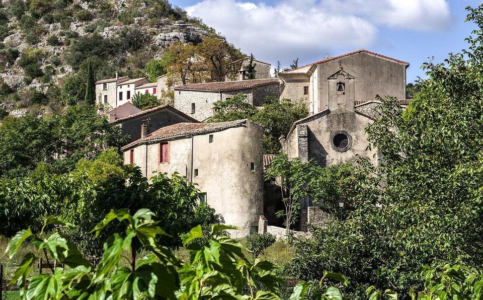 Navacelles, Medieval Village, France, Cevennes