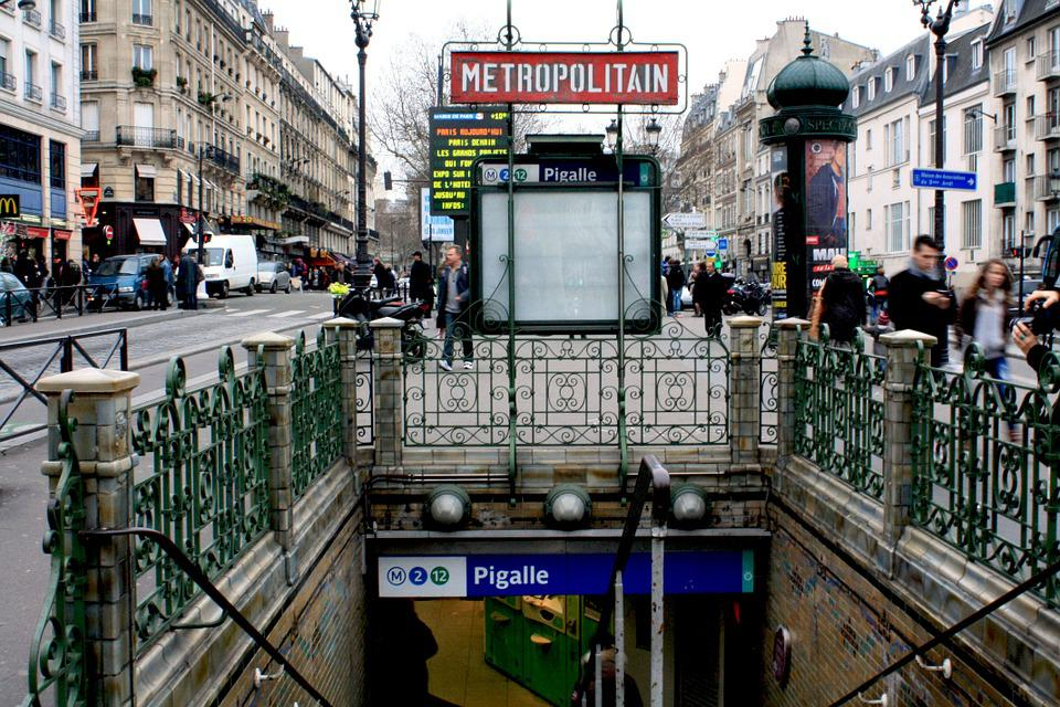 Pigalle, Metro, France