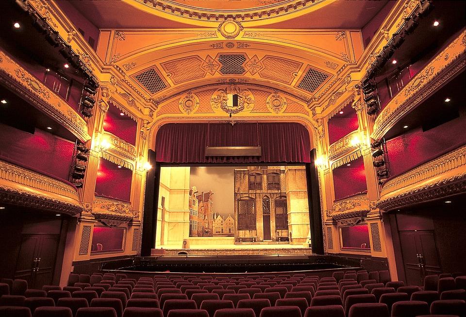 Metz, France, Opera, Theatre, Interior, Stage, Seats