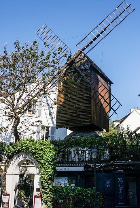 France, Paris, Moulin Rouge, Mill, Montmartre