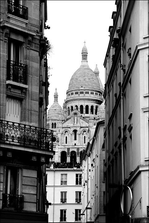 Free Photo France Montmartre Paris Sacré Coeur Heart