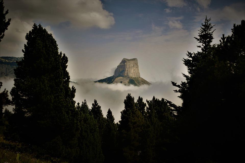 Mountain, Vercors Massif, Sea Of Clouds, France