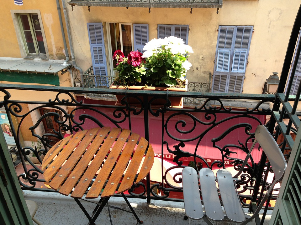 Nice, France, Côte D ' Azur, Hotel, Balcony, Facades