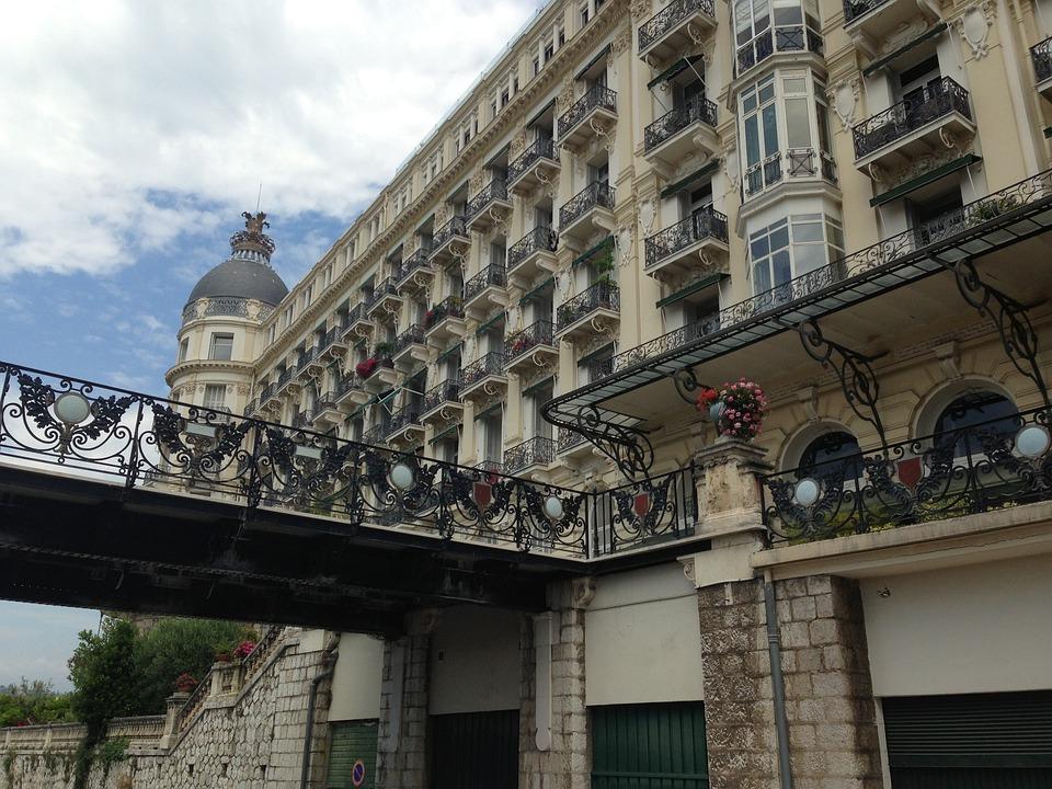 Regina, Facades, Nice, France, Côte D ' Azur, Summer
