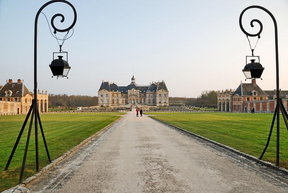 Castle, Palace, Building, Architecture, France, Europe
