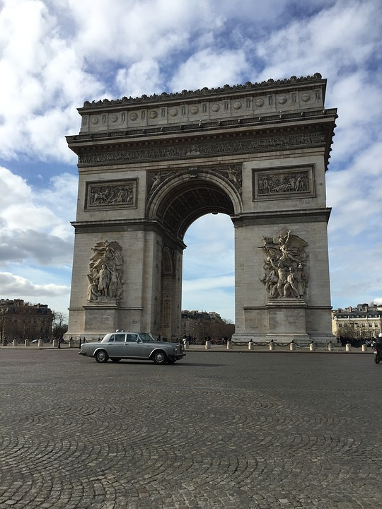 Arch Of Triumph, France, Paris