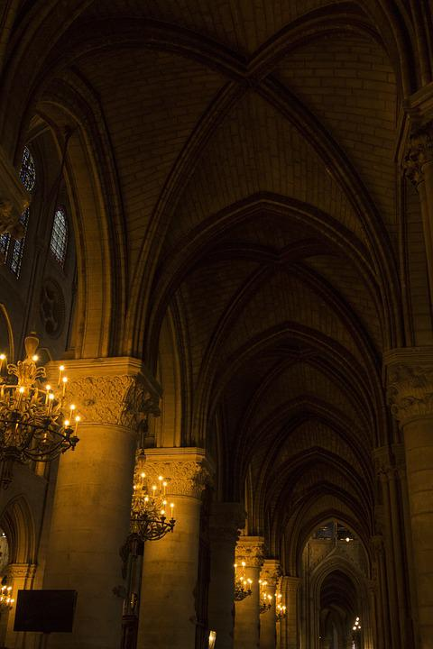 Paris, France, Notre Dame, Cathedral, Church