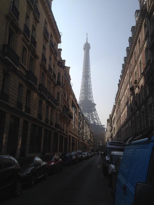 Eiffel Tower, Paris, City, France, Places Of Interest