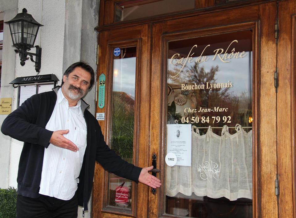 Restaurant, France, Rhône, Valleiry