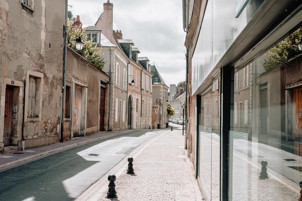 France, City, Street, Road, Europe
