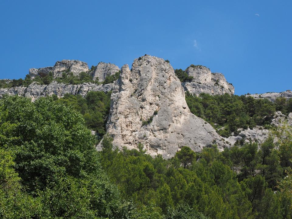 Karst Area, Karst, Rock, France, Provence