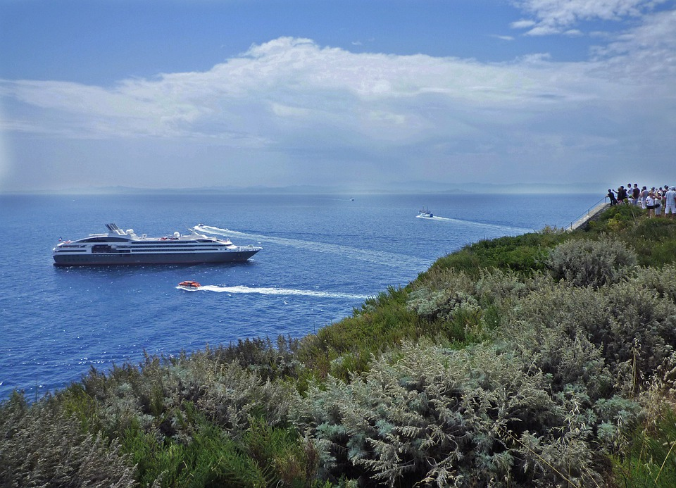 Corsica, Sea, Ship, France, Yacht