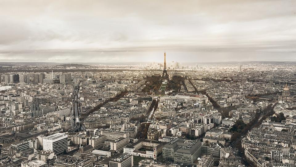 Paris, Eiffel Tower, France, Landmark, Sky