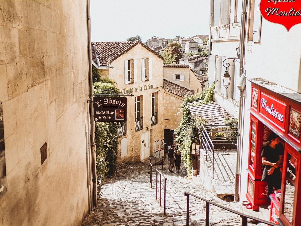 Saint-émilion, France, Travel, Tourism, Wine, Grape