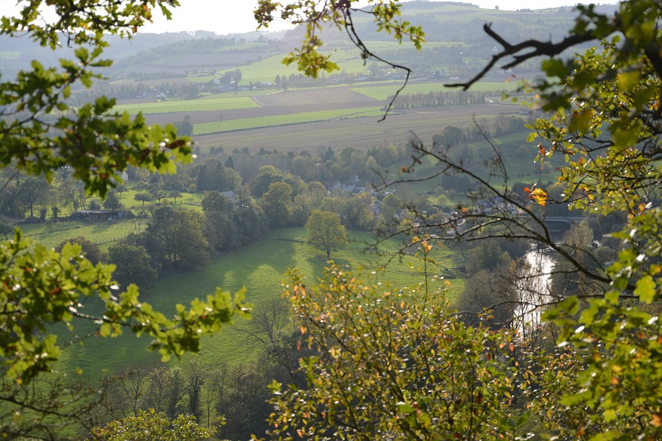 Panoramic, Nature, Trees, Normandy, France