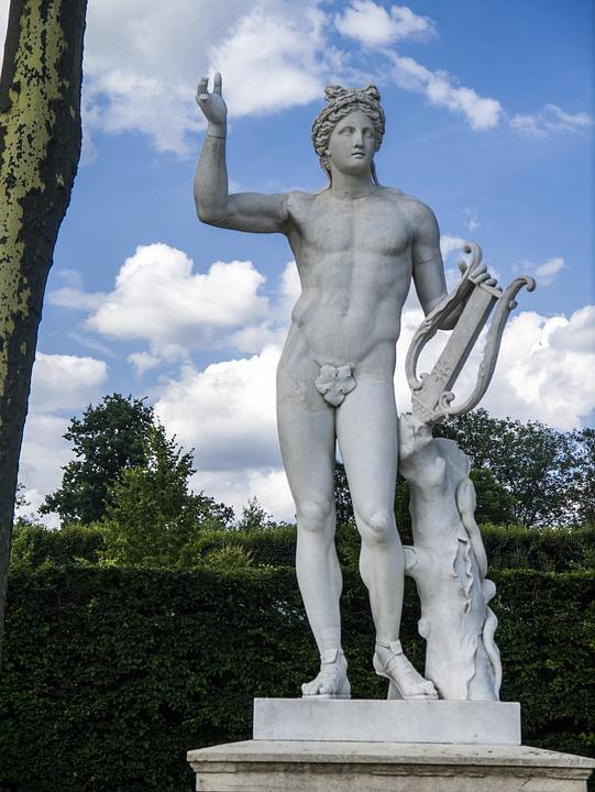 Versailles, France, Château De Versailles, Statue