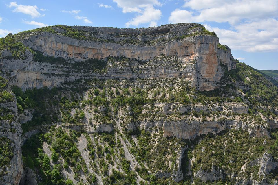 View, Nature, Landscape, Gorges De La Nesque, France