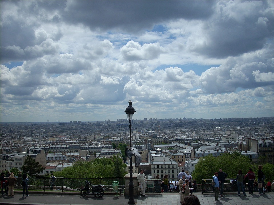Free Photo France View Monument Paris Attraction Sacre Coeur