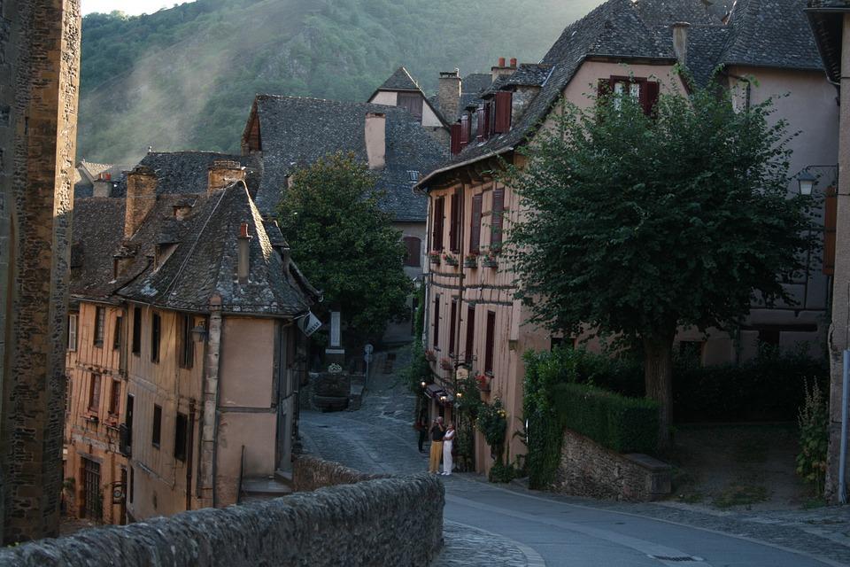 Village, Medieval, France, Medieval Village, Lane