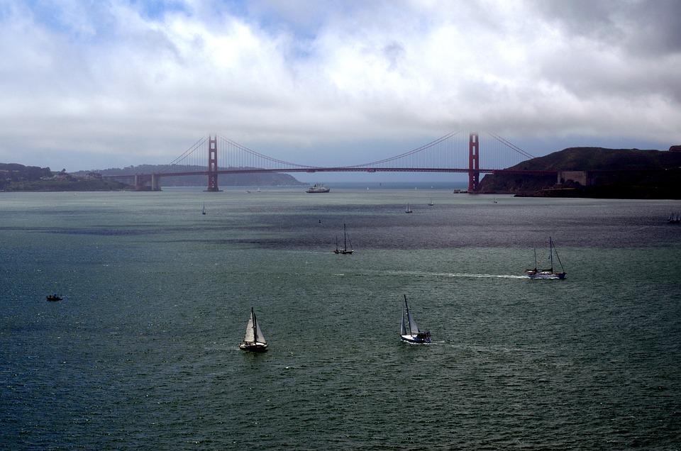 San Francisco, California, Bridge, City, Bay, Francisco