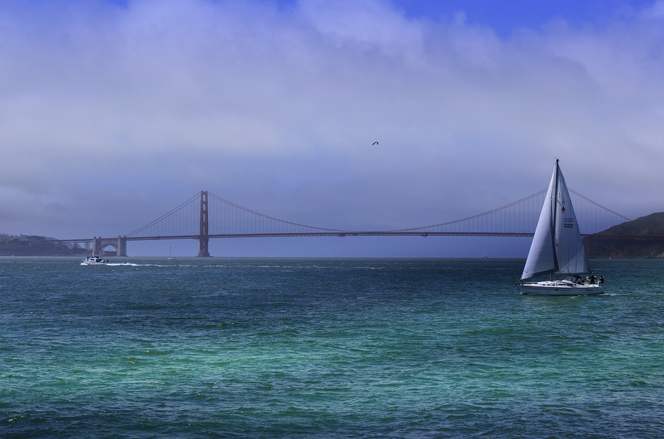 San Francisco, California, Bridge, City, Bay, Francisco