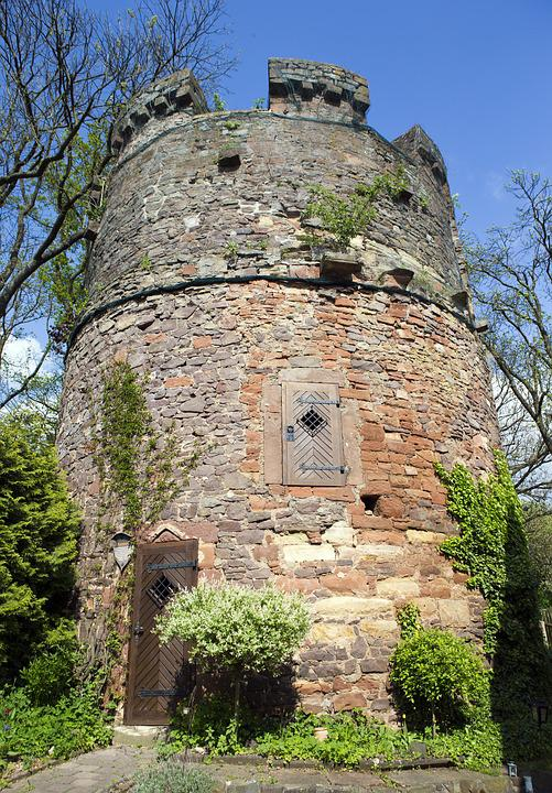 Free Photo Frankenberg Witches Tower Hessen Germany Max Pixel - Hessen germany