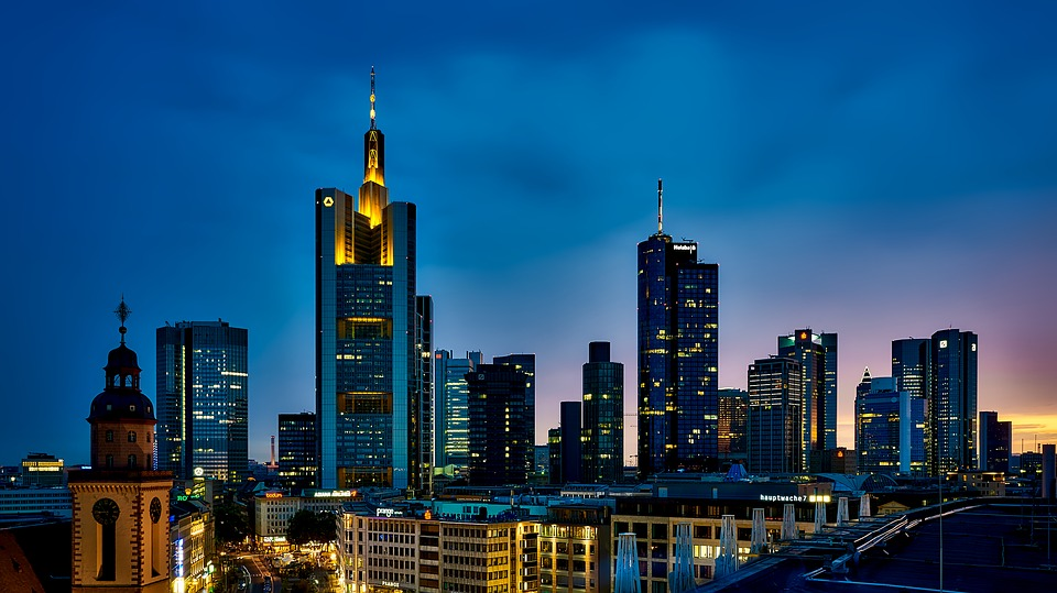 Frankfurt, Germany, Panorama, City, Urban, Skyline
