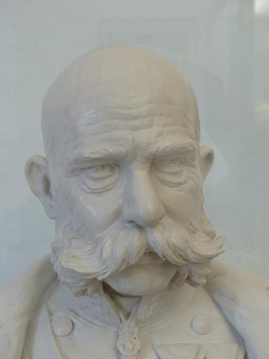 Franz Joseph I, Emperor, Bust, Man, Bart, Portrait