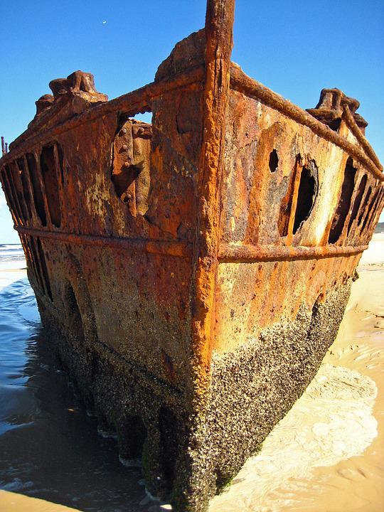 Ship Wreck, Fraser Island, Australia, East Coast