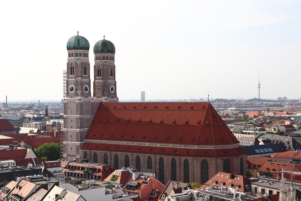 Frauenkirche, Munich, Dom, Marienplatz, Church, Towers