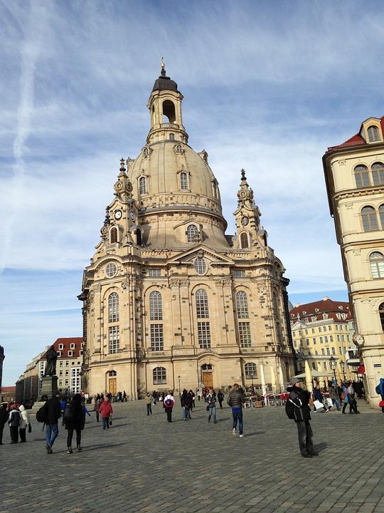 Frauenkirche, Dresden, Church, Lutheran, Germany