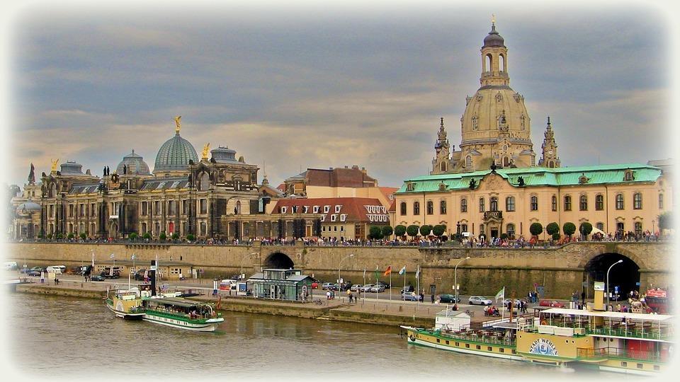 Dresden, Frauenkirche, Church, Germany