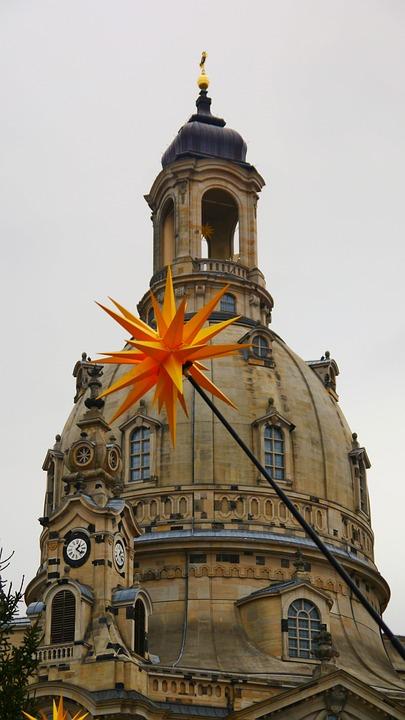 Dresden, Frauenkirche, Architecture, Old Town, Neumarkt