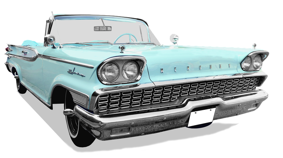 Mercury, Convertible, Free And Edited, Auto, Classic