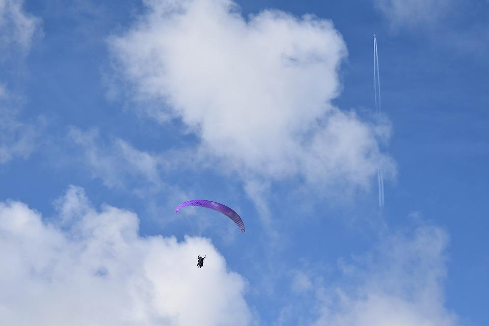 Paragliding, Paraglider, Free Flight Aircraft, Flight