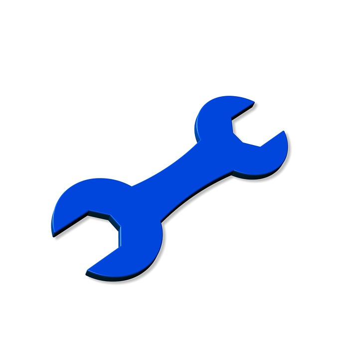 Icon, Drawing, Cartoon, Tool, Wrench, Metal, Free