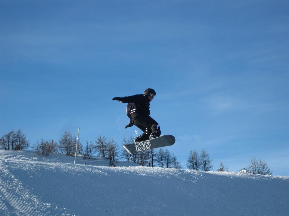 Snowboard, Jump, Snow, Tower, Free Ride, Sport, Winter