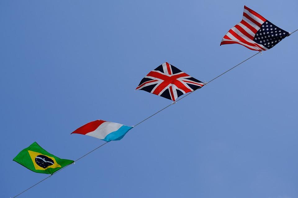 Free, Sky, Flag, Blue Sky, Usa, America, United Kingdom