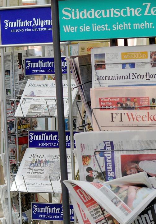 Newspaper, Freedom Of The Press, Newspaper Racks